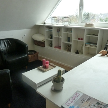 bureau woonkamer zolder