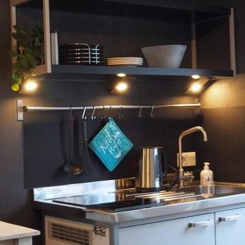 Keuken van alle gemakken voorzien